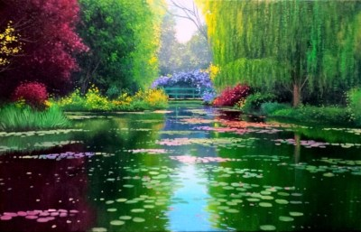 Giverny 65x42cm