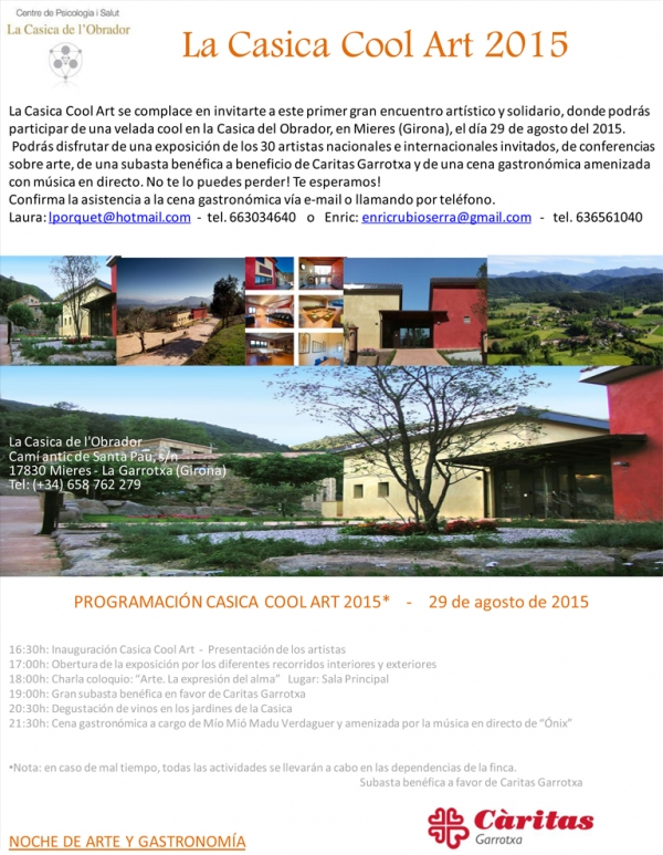LA CASICA COOL ART 2015 / 29 de Agosto 2015