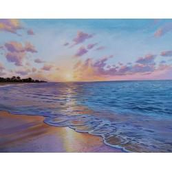 Balinese beach / 55x46 cm